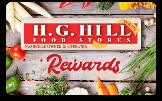 Image of H.G. Hill Rewards Card